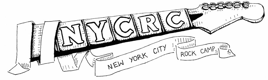 NYC Rock Camp Banner