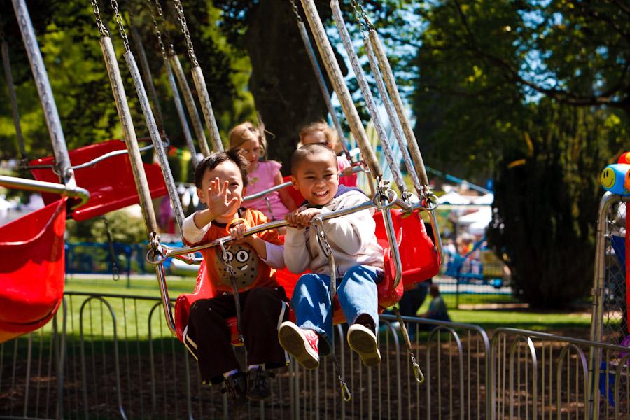 Family Fun Zone & carnival