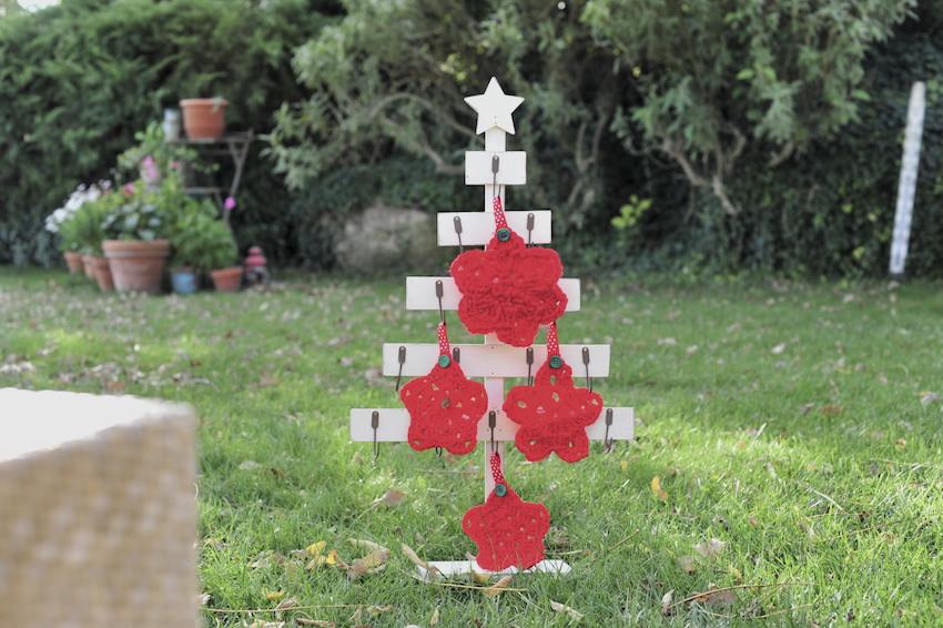 Estelles de ganxet per decorar l'Arbre