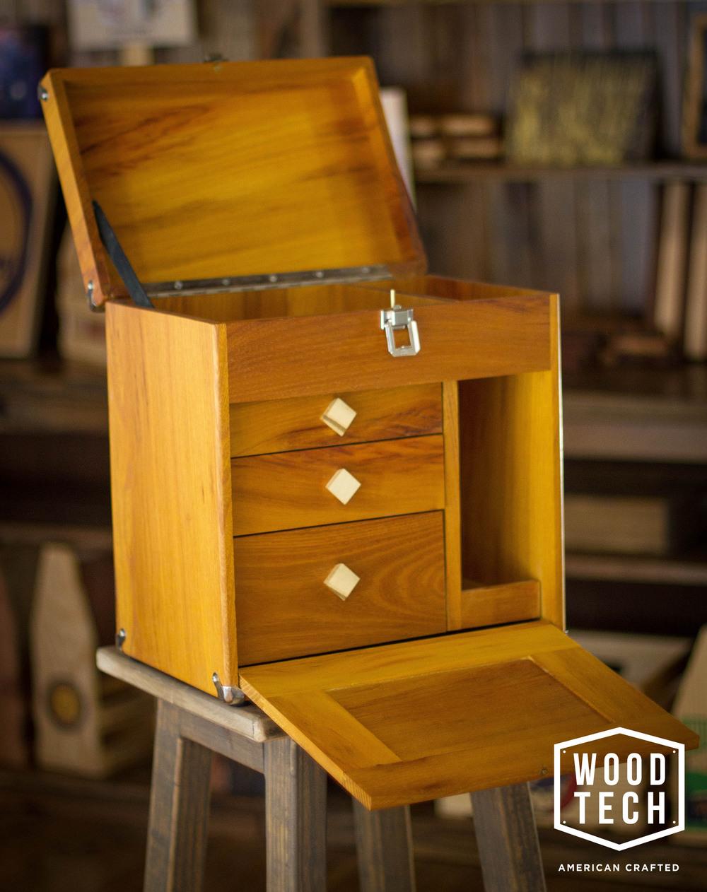 Prohibition Style Wood Box