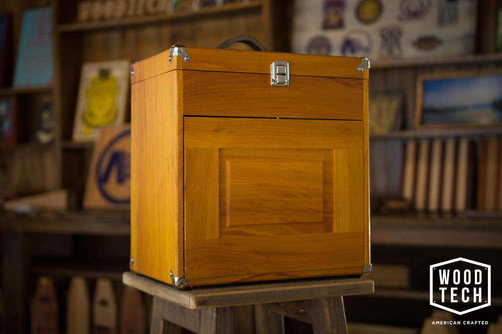Prohibition Style Wood Box Closed
