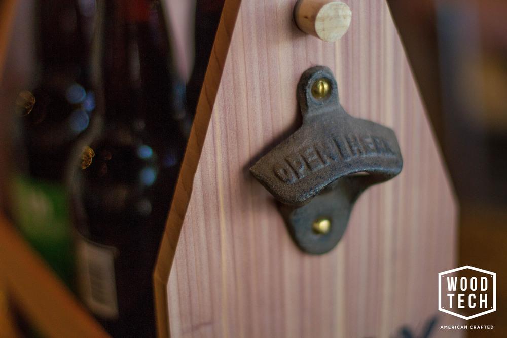 custom beer tote