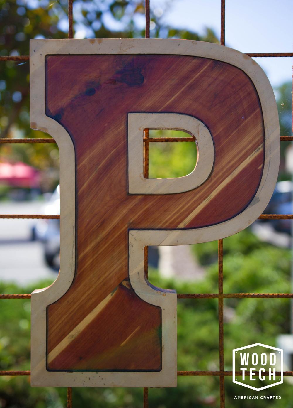 Custom Wood Letter
