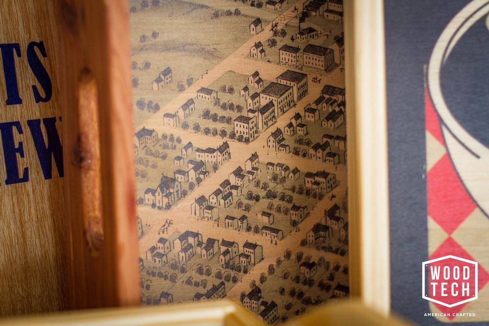 Custom Wooden Tray Detail 2