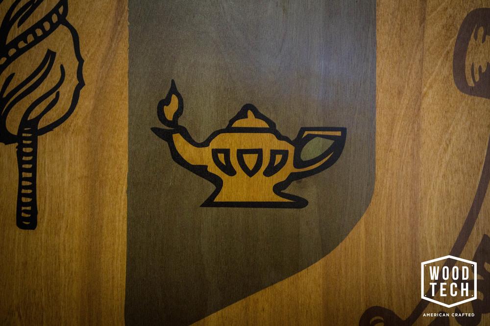 Custom Printed Wood Sheild