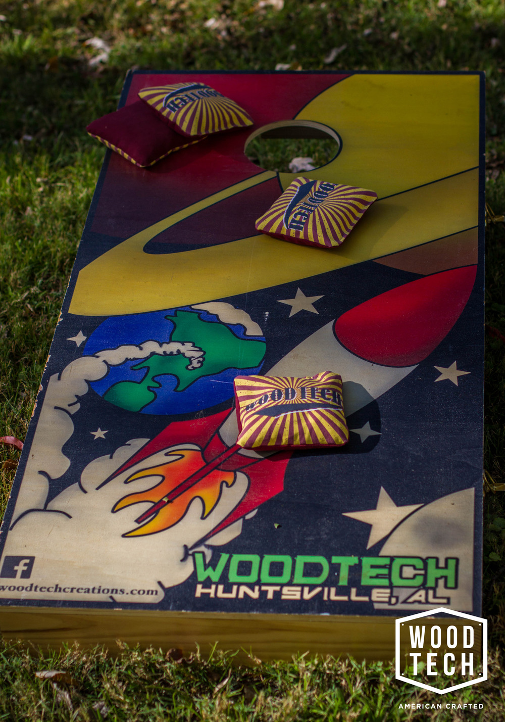 Custom Printed Cornhole Boards