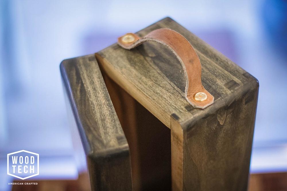 Custom Wooden Liquor Bottle Box