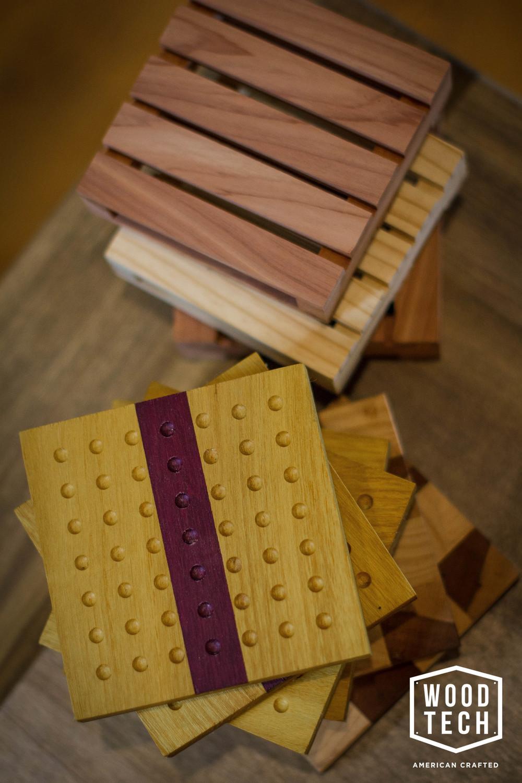 Custom Wooden Coaster
