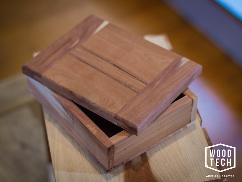 Custom Wood Memory Box