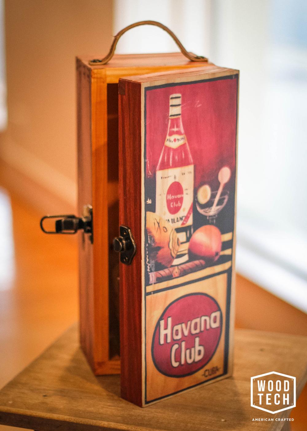 Custom Liquor Bottle Box
