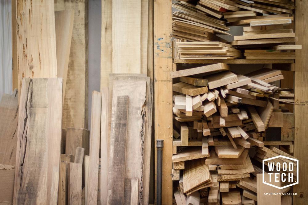 Woodtech wood stock
