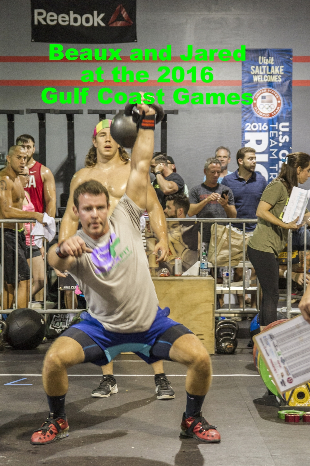 GUlf Coast Games Kettlebell Overhead Squat Single Arm Rx Male Team