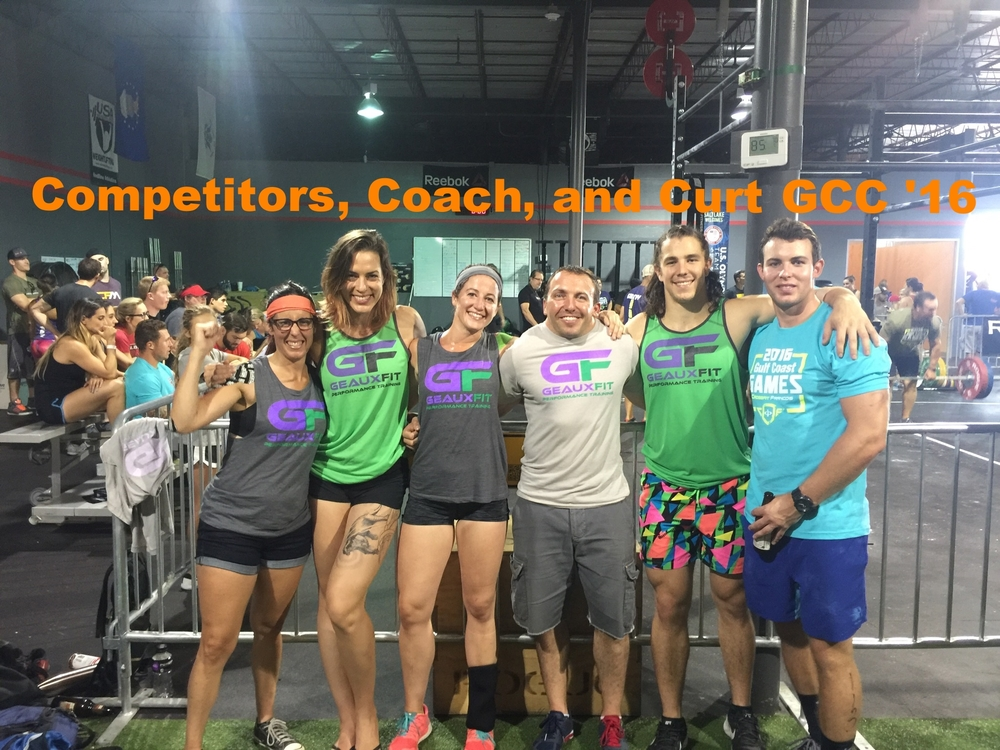The New Orleans Fitfam at the Gulf Coast Games at Crossfit Francos