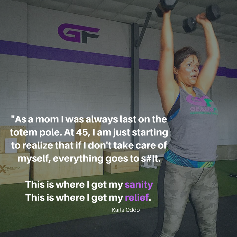Karla decided to do this for her, but it's had profound changes on the people in her life too.