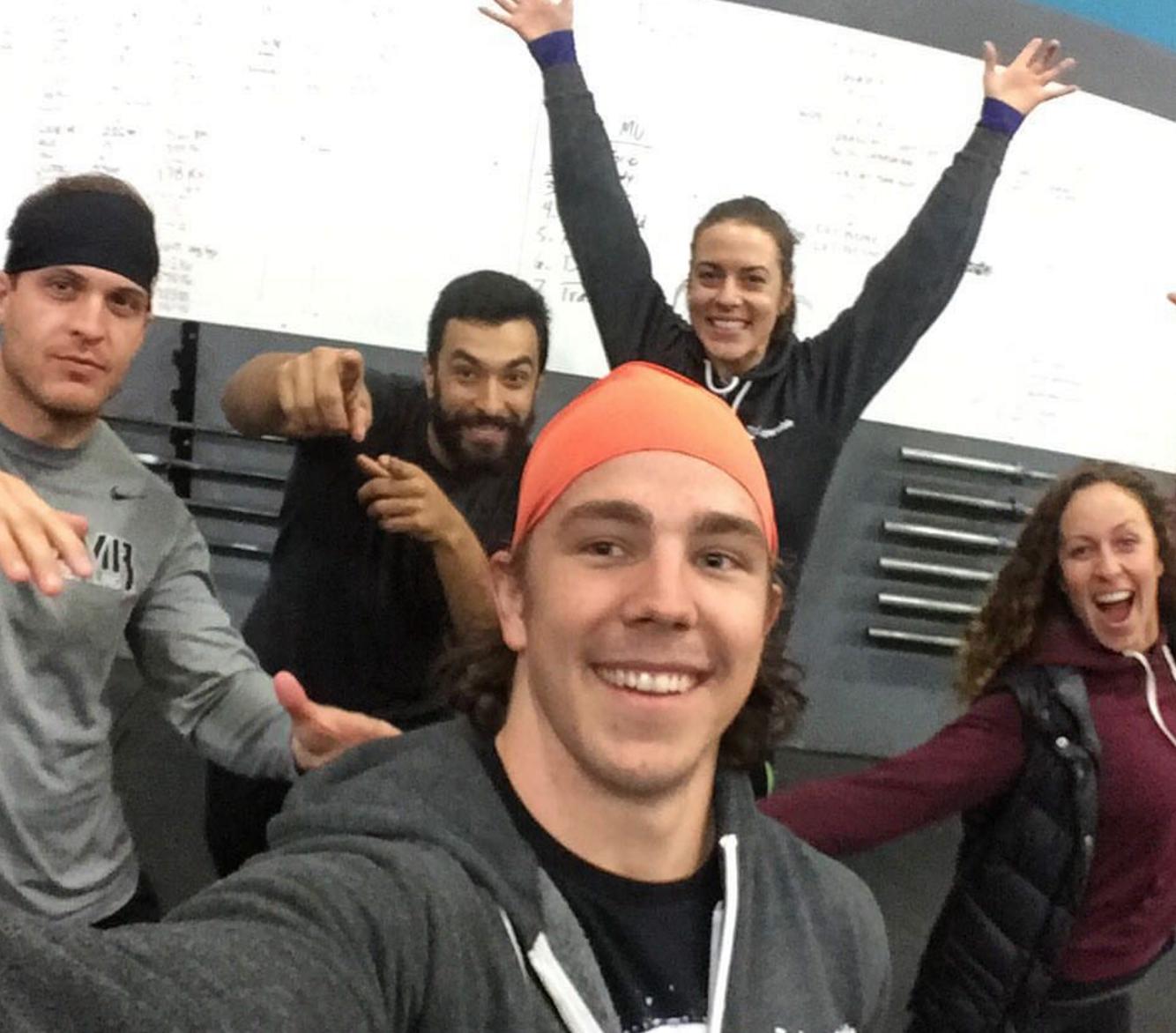 Last Class coached at CrossFit Potrero Hill, San Francisco.