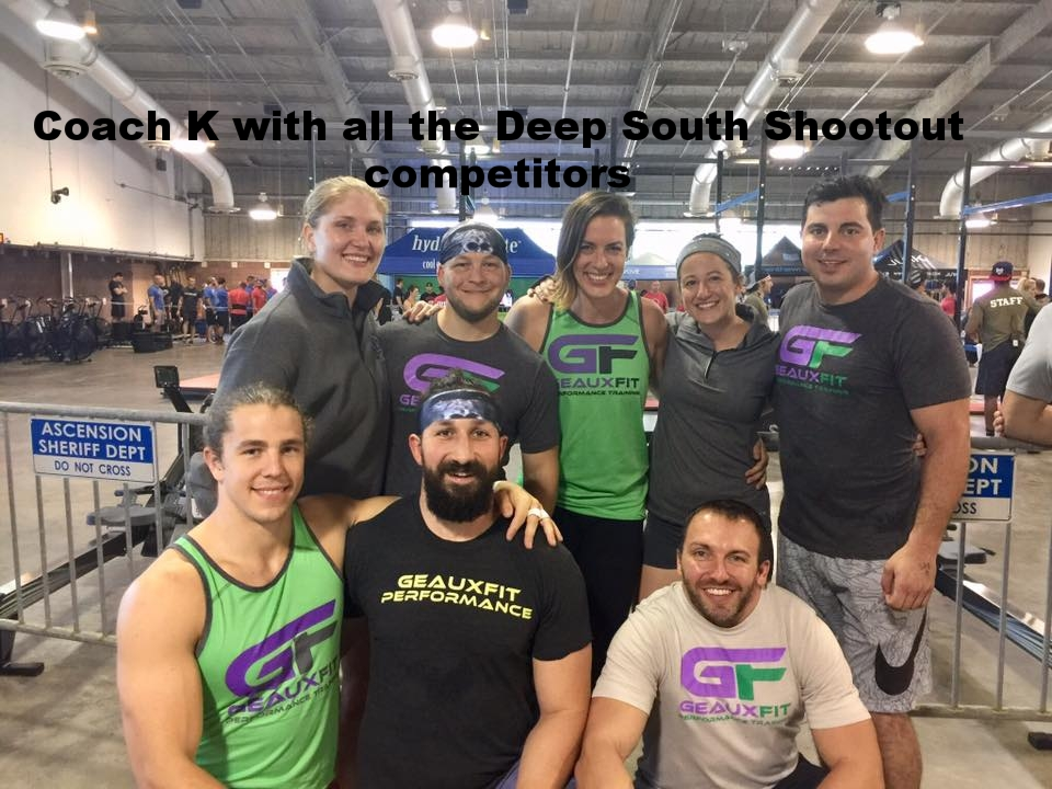 Deep South Shootout Team competition GeauxFit Performance