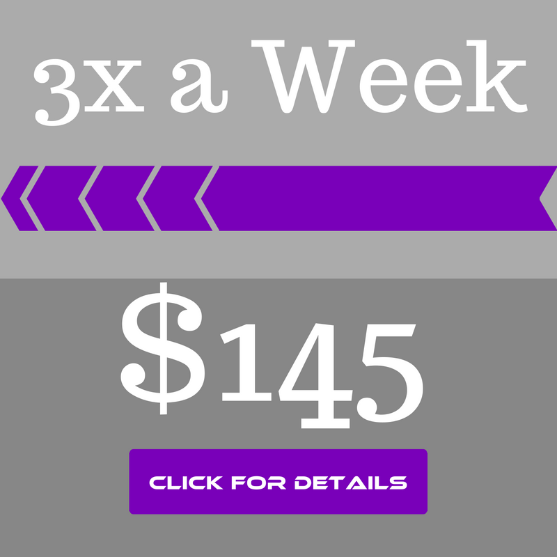 price of 3x week fitness classes at GeauxFit Performance Training in New Orleans Gym