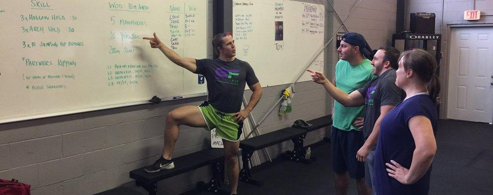 Coaching fitness