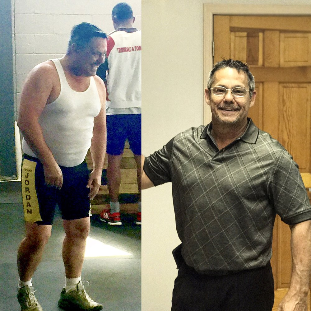 weight loss transformation with GeauxFit Training