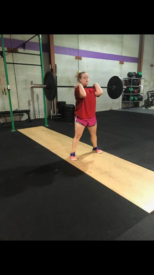not crossfit gym weightlifting clean