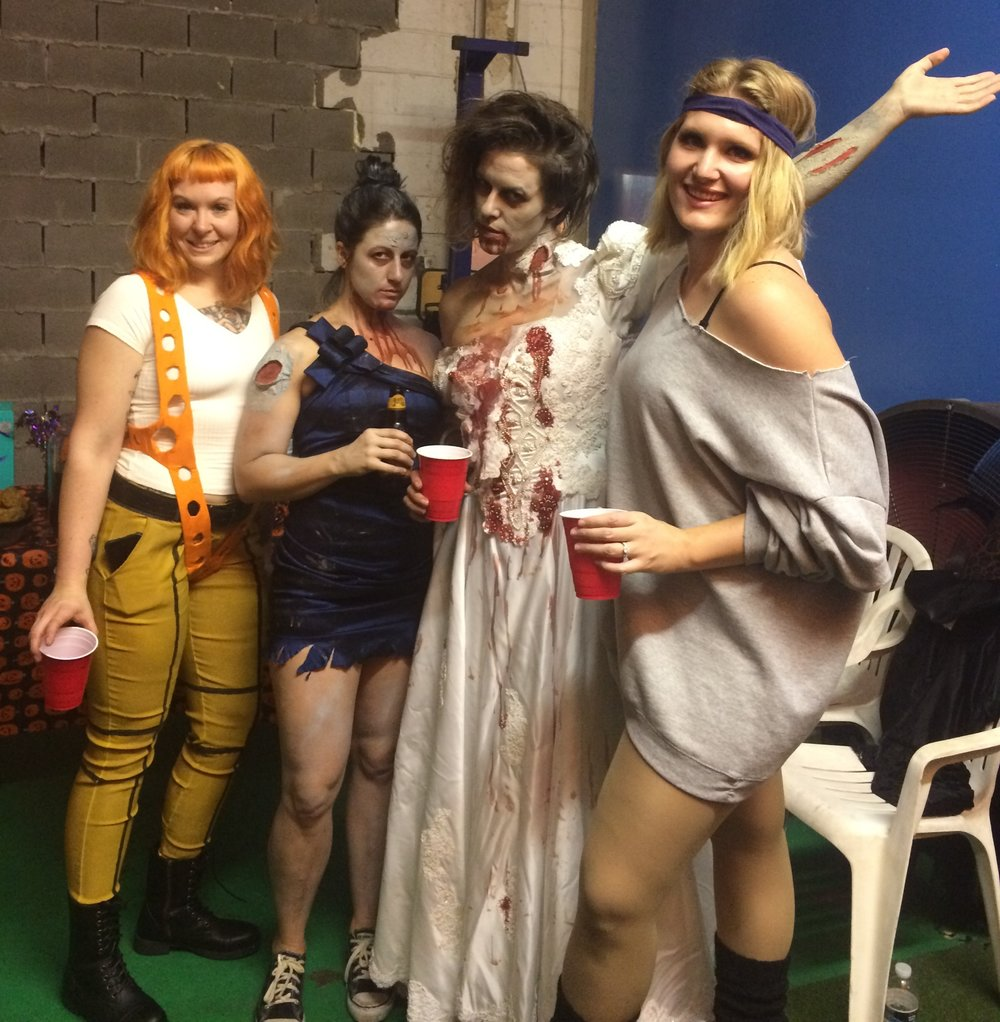 Geauxfit Training gym halloween party costumes