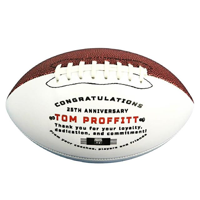 """Commemorative"" Football"