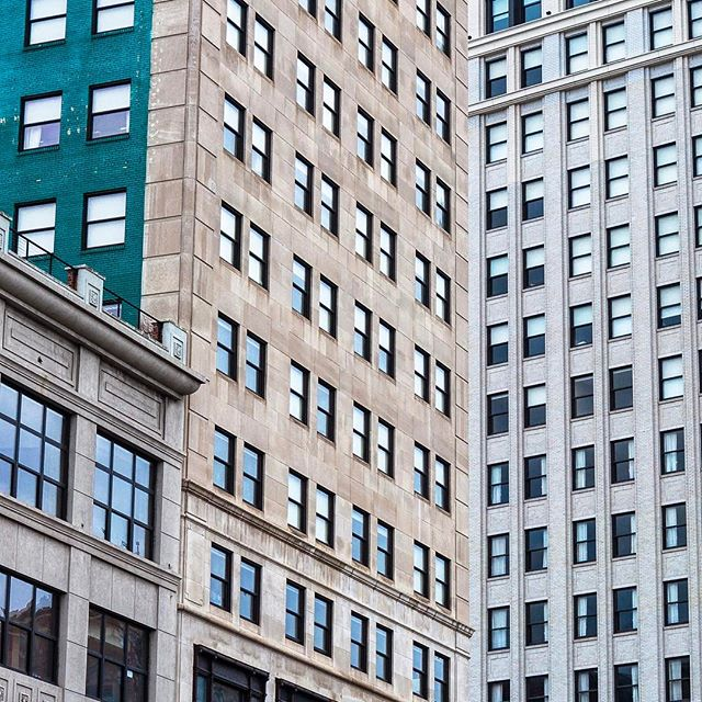 Broderick Tower and Whitney Building  #detroit #streetphotography #architecture
