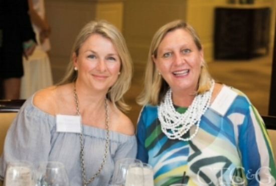 Eileen Deschapelles with C&G Media Group Group Publisher Jennifer Matthews at a luncheon for the winners. Click   here   to see all the photos.