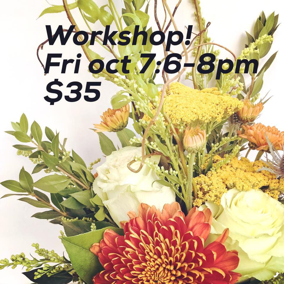 Connections fall pumpkin floral and first friday in the exchange dianne hammerling photographer with beautiful beginnings photography will also be in the studio 7 9 pm as part of the flash photographic festival izmirmasajfo
