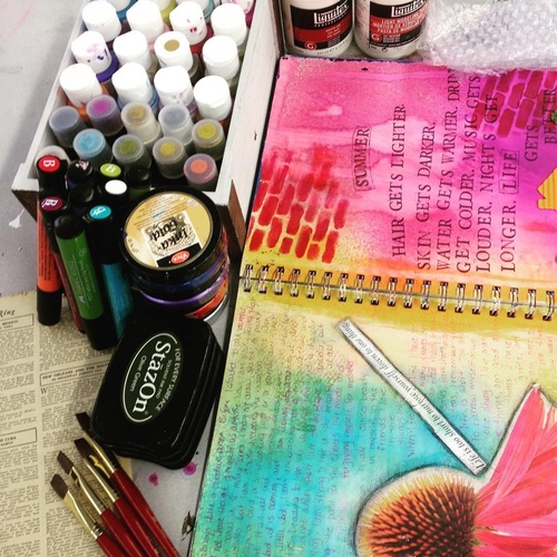 March 21 Art Journal Workshop