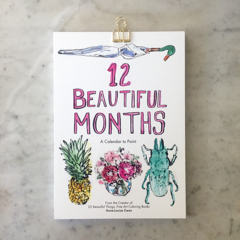 12 Beautiful Things Mini Calendar