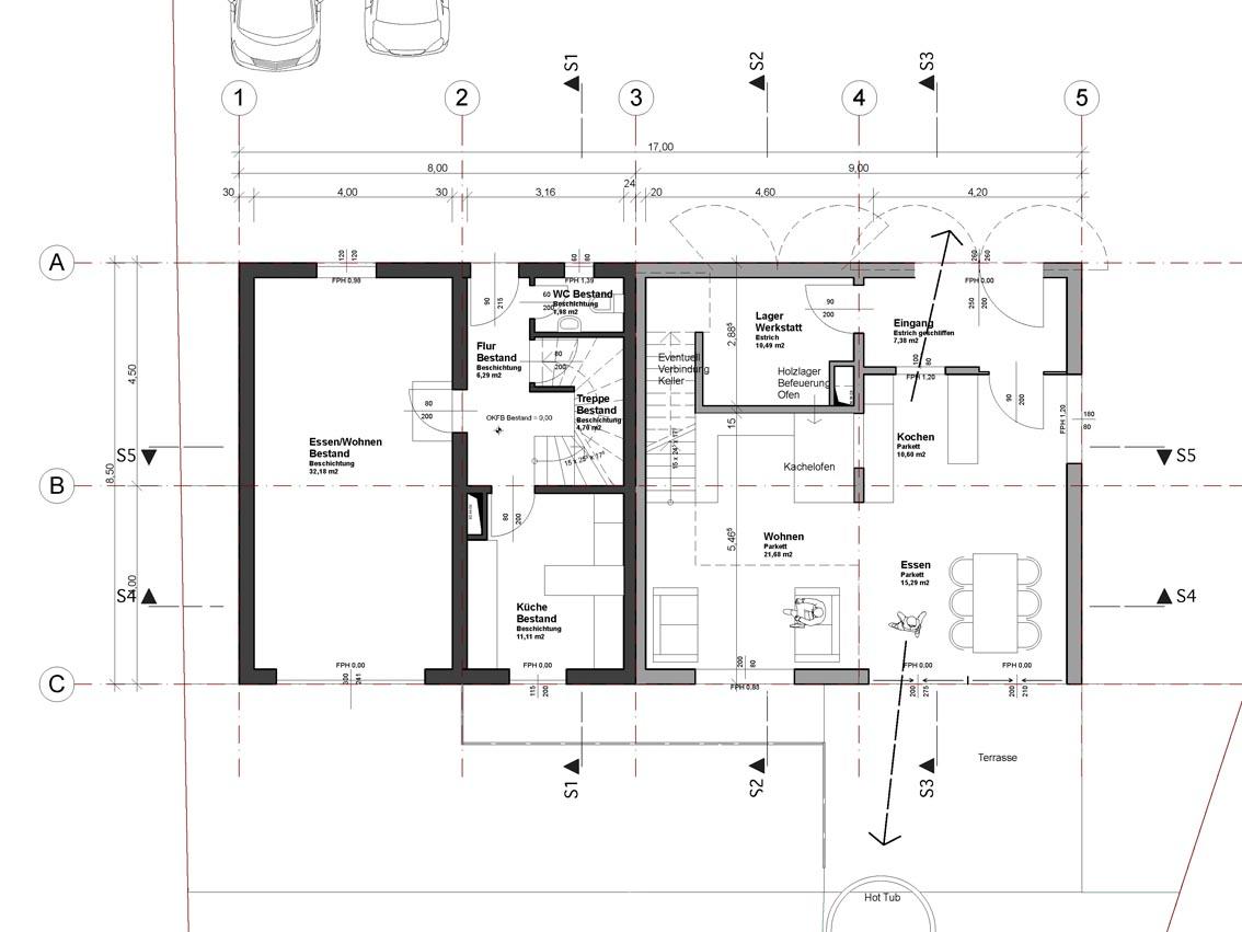 2009 Haus Grund Sanierung Bauernhaus Und Umbau Scheune