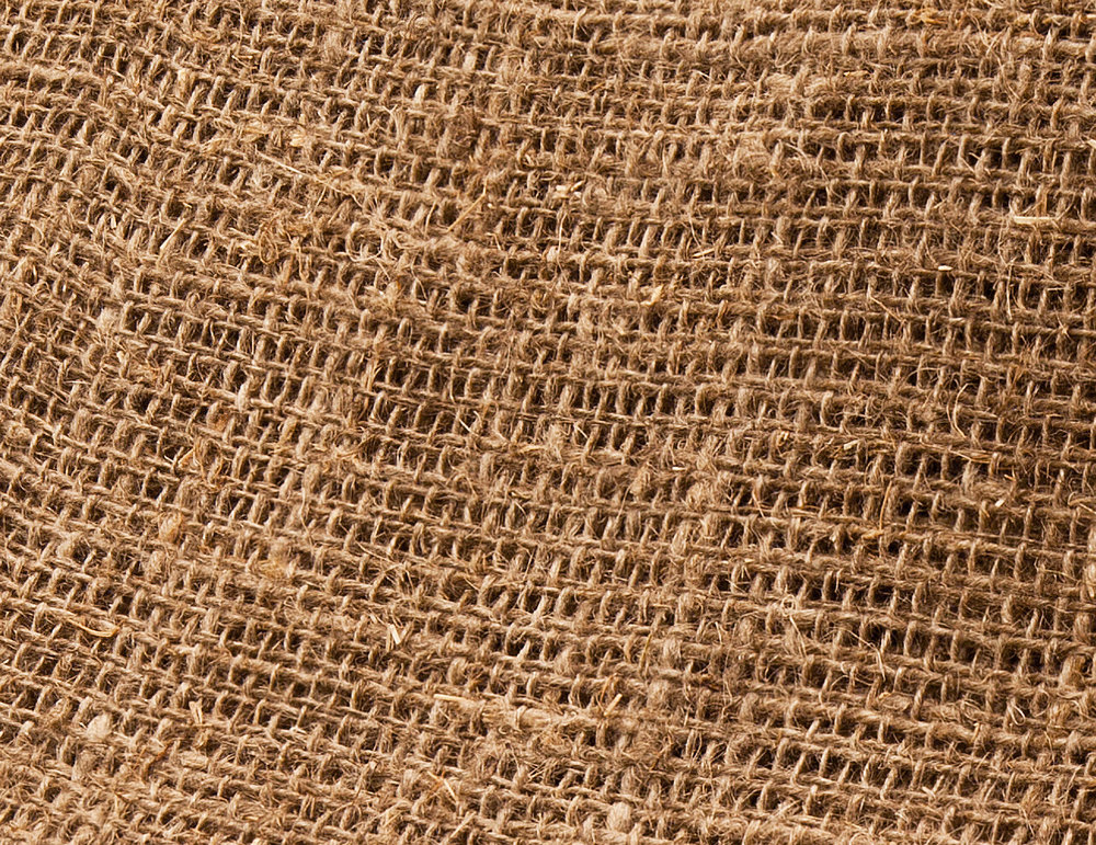 100% Natural Woven Jute Secondary Backing