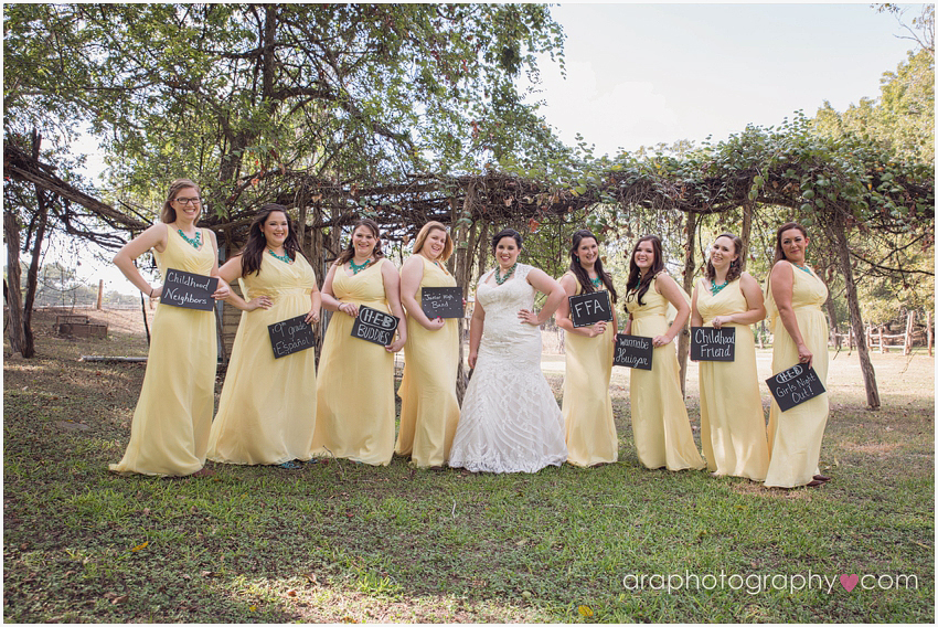 San Antonio Weddings Bridesmaid