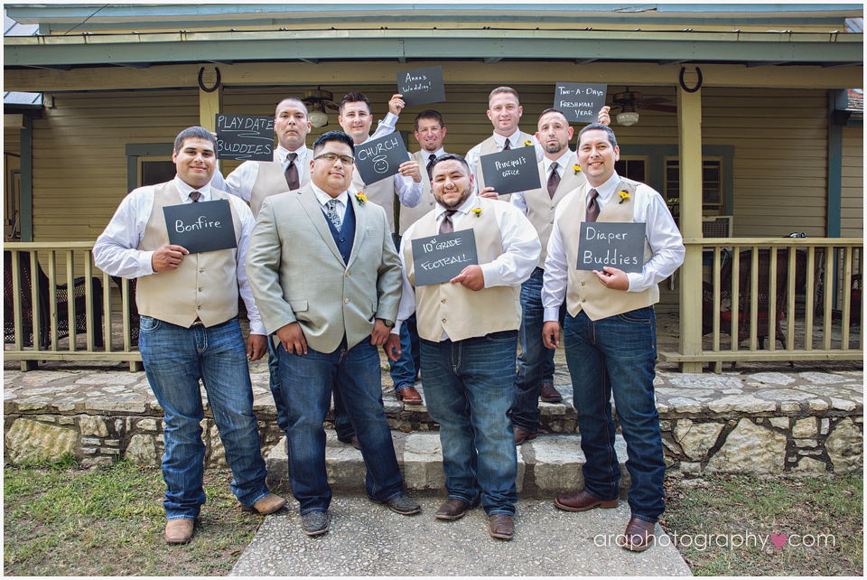 San Antonio Weddings Groomsmen