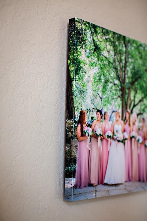 San Antonio Weddings Gallery Wrap
