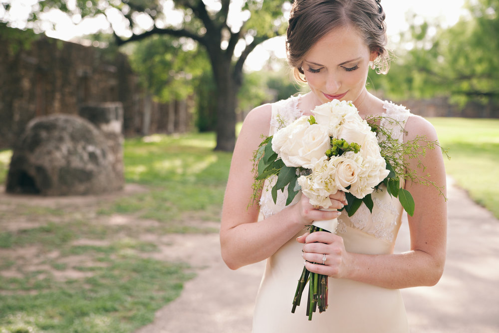 San Antonio Wedding Photography Bridal Session Mission San Jose