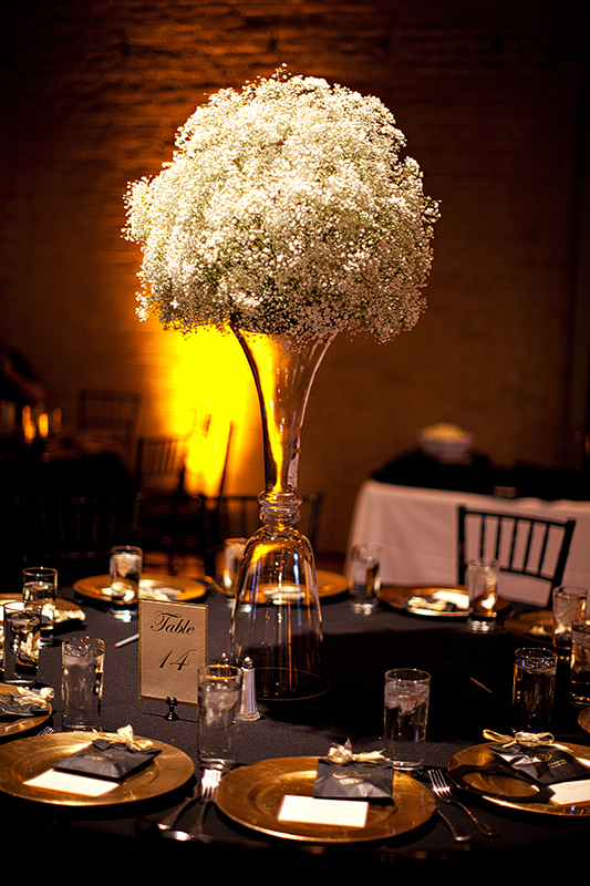 San Antonio Wedding Photography Wedding Centerpiece