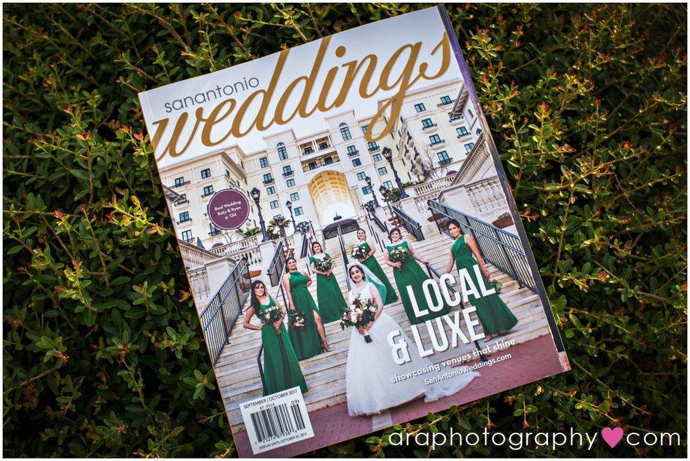 San Antonio Weddings Magazine Photography