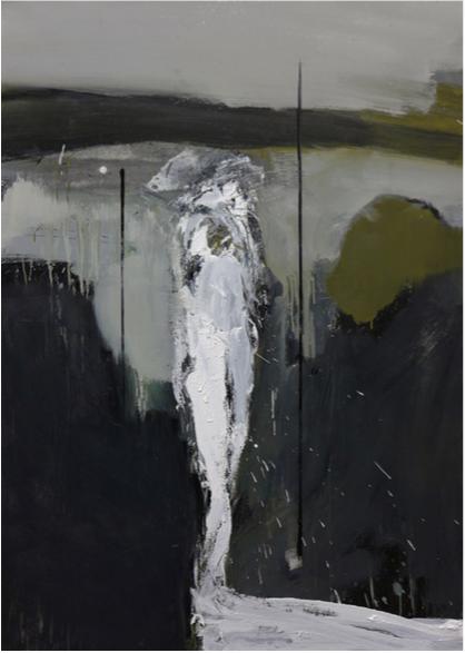 Untitled man 2, 2016 Óleo sobre lienzo 140 x 100 cm