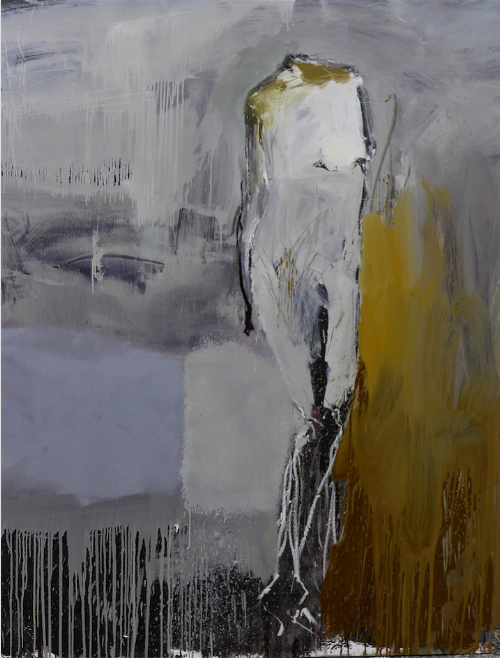 Mujer sin nombre, 2016 Oil on canvas 170 x 130 cm SOLD