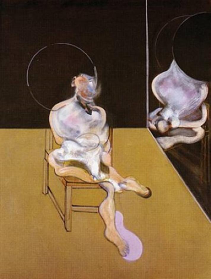 Seated Figure, 1983 Aguafuerte 100 x 69 cm VENDIDO