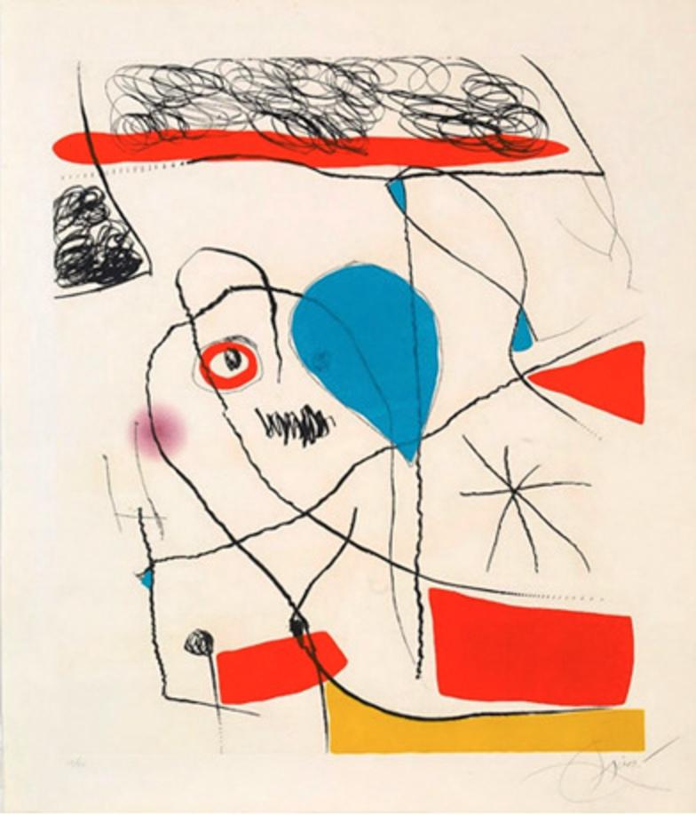 El Pi de Formentor, 1967 Aguatinta 107 x 95 cm.