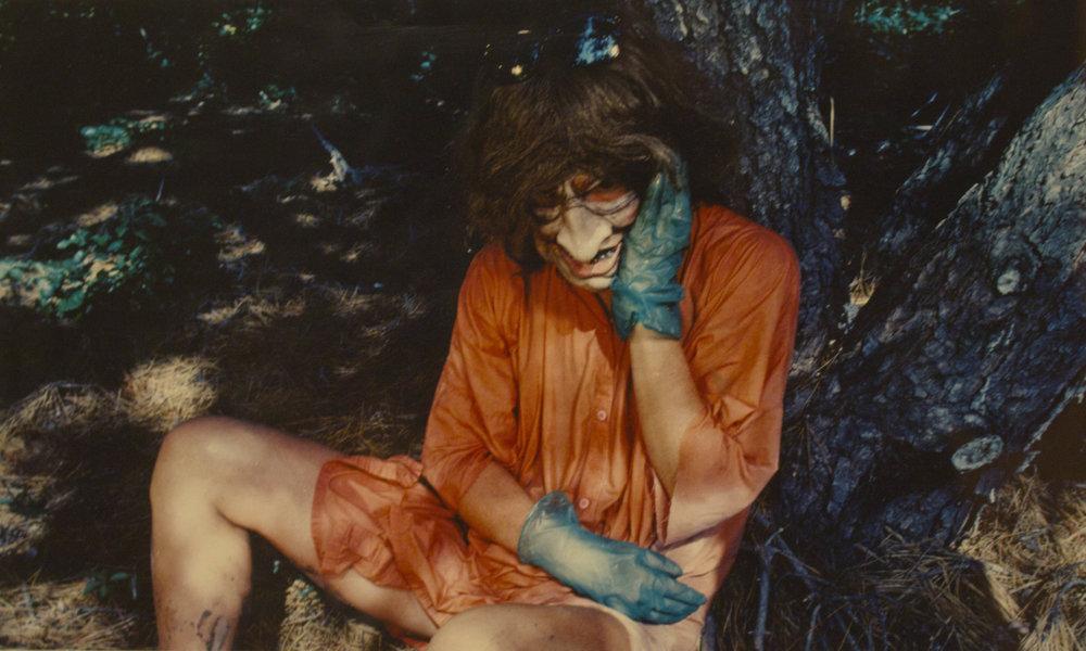 """Sin título, 1986 Print coloreado. Firmado, numerado y fechado por detrás con tinta """"Cindy Sherman 60/200 1983/93"""". 278 by 357 mm."""