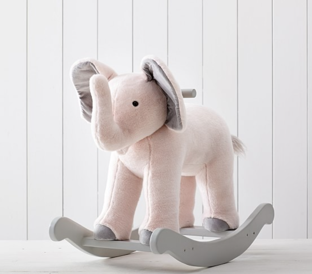 Nursery Plush Rocker - Nursery plush rockers are a great baby shower gift because it comes in different styles that will match the baby's room. Depending on what the family has the room designed as you can find the perfect plush rocker to match. This rocker will last a long time in the child's life and will also not be a toy that they will grow out of immediately.