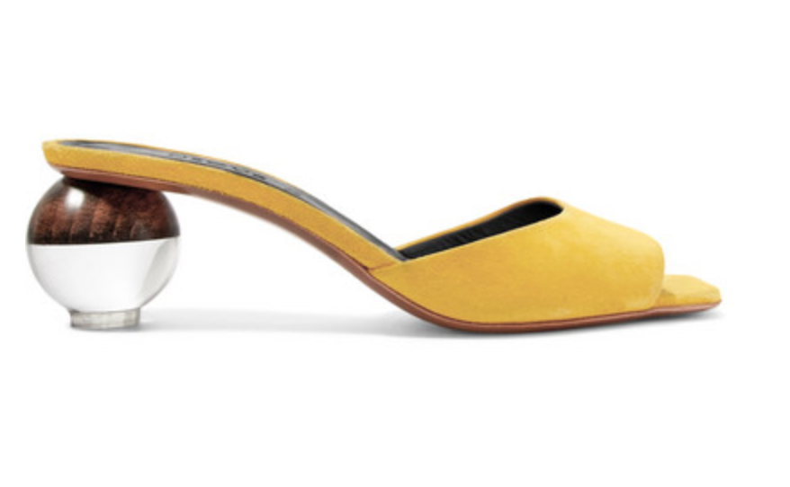 Sculptural Heels  -  When you want to look sophisticated and classy these are your go to heels. These heels could also be worn for a night on the town. With heels that are amazingly crafted into miniature art pieces, you are sure to be the talk of the night.