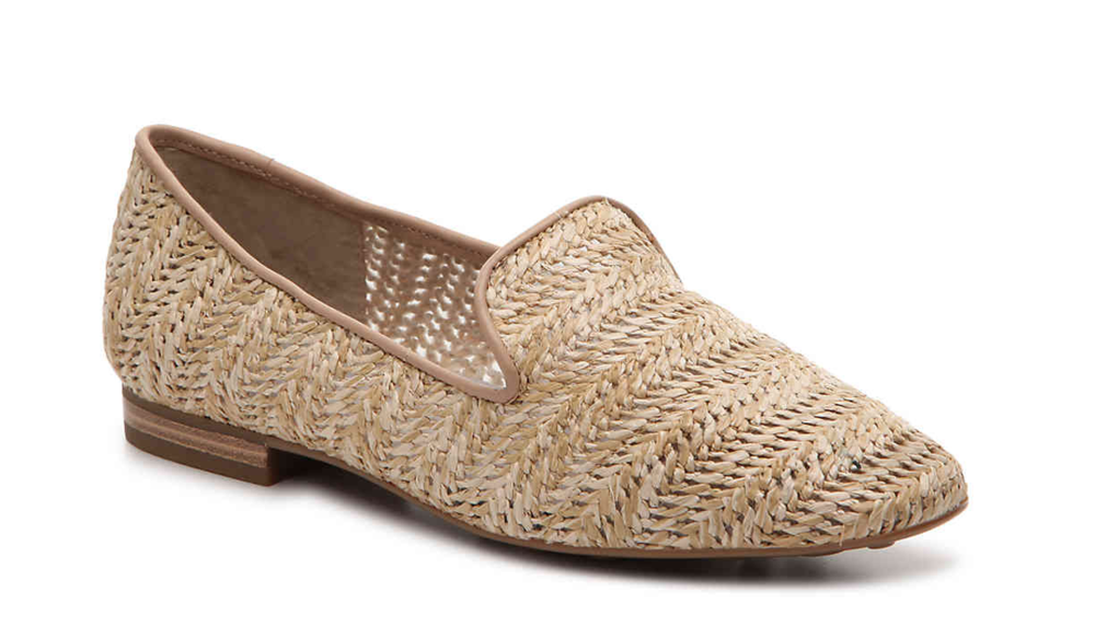 Raffia -  With 2018 being full of hand woven accessories, why not make shoes one of them? These sandals are like a chic straw bag for your feet. They are in high demand in the summer of 2018 and go with almost any outfit.