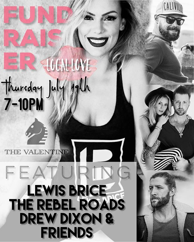 TOMORROW NIGHT!!! Meet us on the rooftop to show your local love and enjoy live acoustic acts by Lewis Brice, The Rebel Roads, Drew Dixon and more! A percentage of proceeds go to the beautiful Denelle Manzer to help with her medical bills during her recovery process. People helping people, all of the cool kids are doing it. #locallove #thevalentine #FUNdraiser