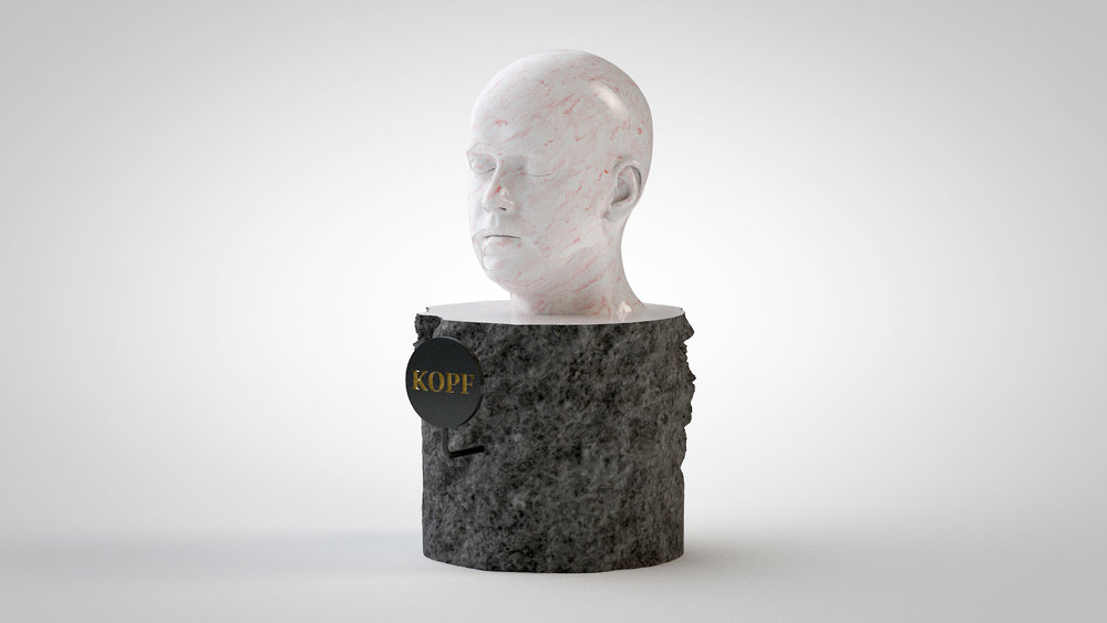 01.24 Marble & Bust-Head