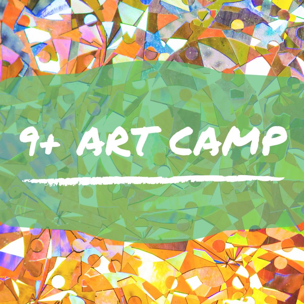 9+ Art Camp